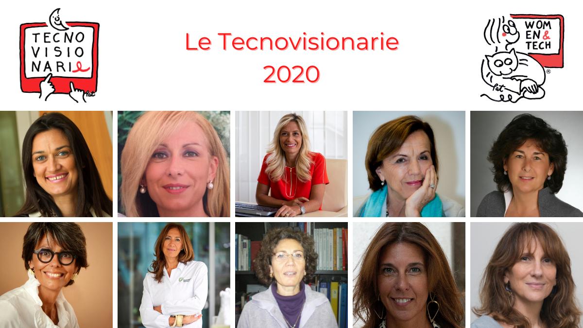 Tecnovisionarie 2020: dieci donne che inventano il futuro - Startupitalia
