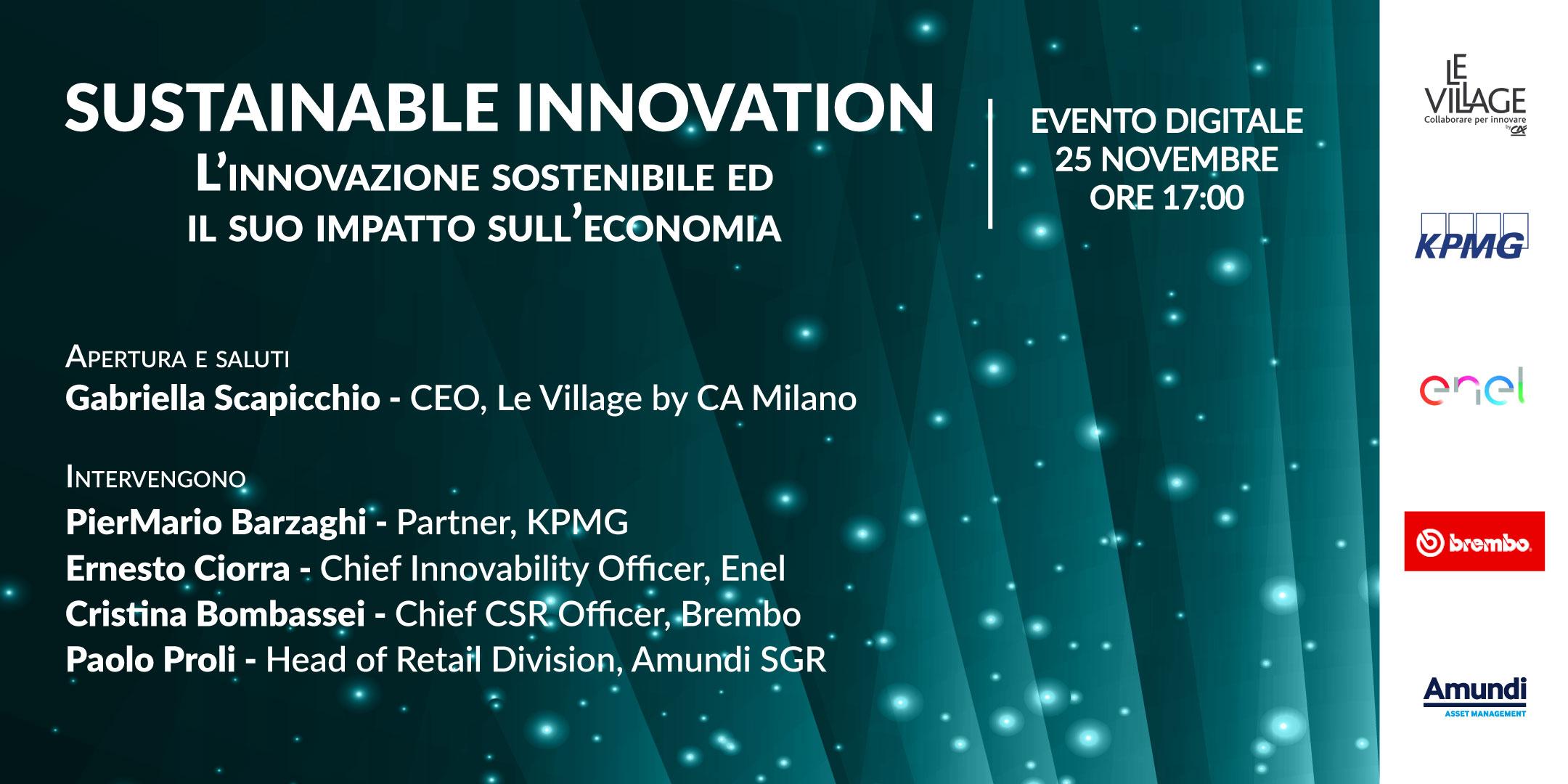 Logo Sustainable Innovation Le Village