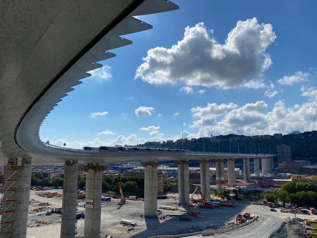 Genova, il ponte San Giorgio sarà un viadotto smart e green - Impact
