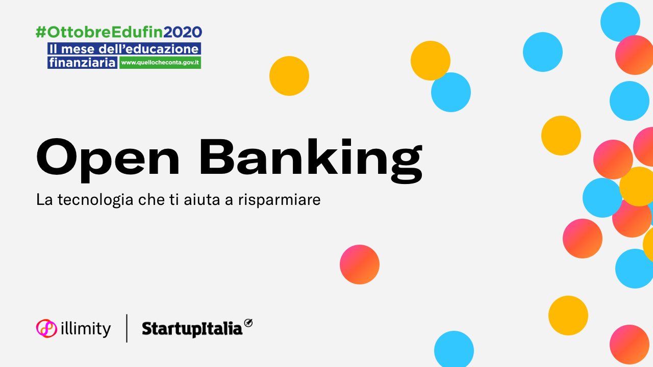 #OttobreEdufin2020: il 29 ottobre il webinar dedicato all'Open Banking