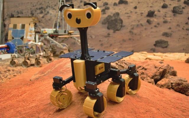 ExoMy, adesso puoi costruirti un rover marziano in 3D